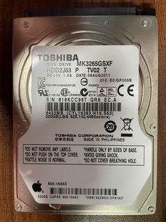 HDD 2.5 Toshiba 320GB