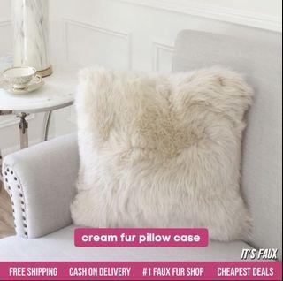 Its Faux PH Fur Pillow Case