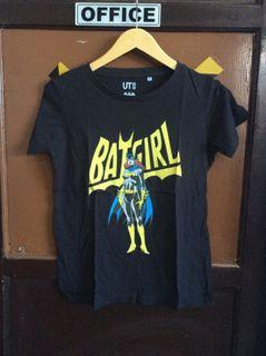 Kaos Cartoon Batgirl