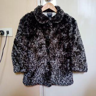 Leopard Pattern Coat