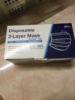 Masker disopable mask