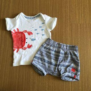 Mothercare crab set