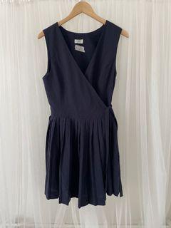 🔥🔥 SALE 🔥🔥 JUAL RUGI Navy dress remple