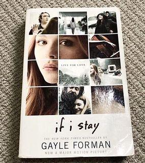 Buku Novel If I Stay by Gayle Forman