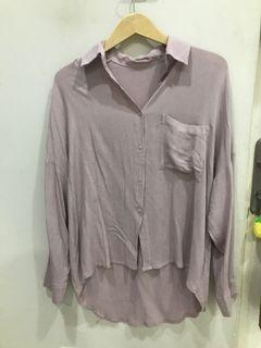 Oversized top lilac