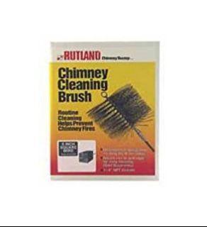 "Rutland 16508 8 ""Square Chimney Cleaning Brush"