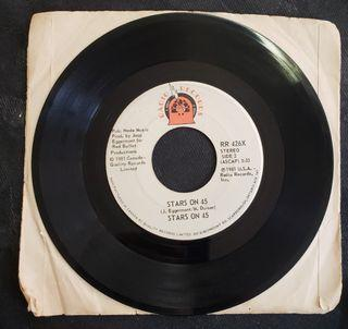 """Stars On 45 ( 7"""" single ) 1981"""
