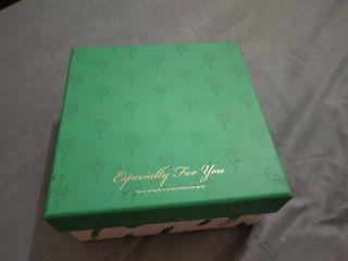 BOX MINISO UKURAN 16x16x8 BISA VIA SHOPEE GRATIS ONGKIR XTRA HARGA NETT