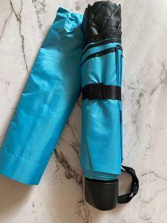🌞晴雨兩用傘🌧️抗UV 海洋藍手動傘 ,另有桃紅色 自動開合兩用傘#集氣
