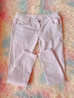 White august jeans