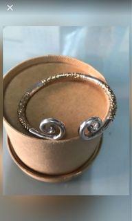 純銀手環,胖瘦都可以帶