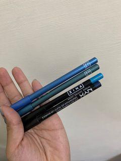藍色系眼線筆們-四支