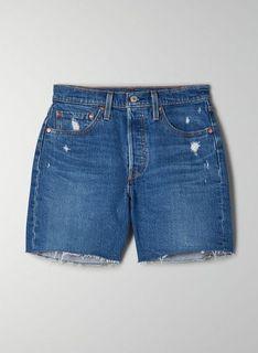Aritzia Levi's Mid Thigh Short