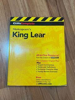 Cliffs Complete Shakespeare's  King Lear book