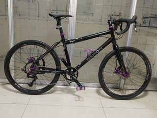 "Dahon Bravo Gravel Dropbar 26"" Sensah SRX Pro 11-speed Foldable Bicycle"