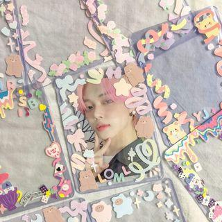 Decorated Toploaders for Kpop Photocards