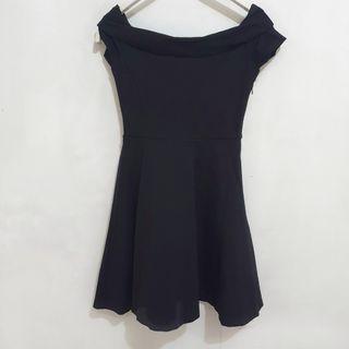 EVER NEW Sabrina Neckline Little Black Dress (XS)