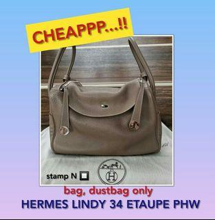 HERMES LINDY 34 ETAUPE PHW