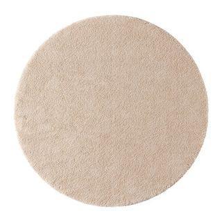 IKEA短毛地毯淺乳白色