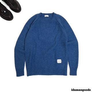 London tailor knitwear basic blue