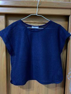LOWRYS FARM 日系品牌 百貨公司 簍空 短袖上衣 #東京