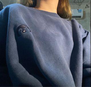 Navy Oversized Sweater