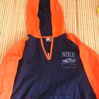 Nike 古著撞色口袋帽踢原價1080$有瑕疵便宜出清