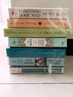 Novel Romance Import Murah