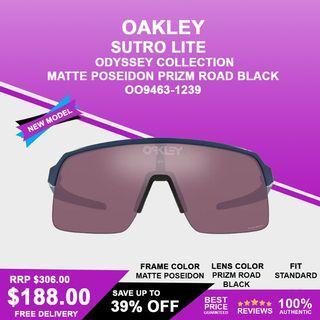 Oakley Sutro Lite Odyssey Collection Matte Poseidon Prizm Road Black OO9463-1239