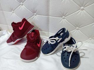 Original Nike and Crocs for baby