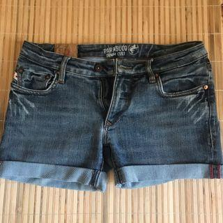 parasuco denim cult外國品牌重磅牛仔短褲