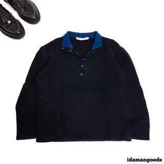 Perry Ellis halfbutton knitwear basic