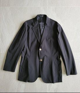 Raf Simons Black Jacket Made In Italy size 48