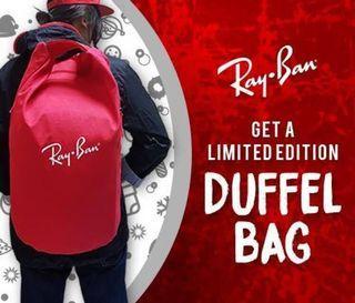 Rayban Duffle / Gym Bag/ Backpack / Tote Bag