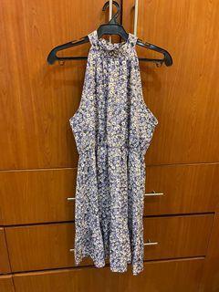 Shein Purple Halter Dress