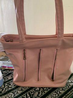 Tas kulit pink