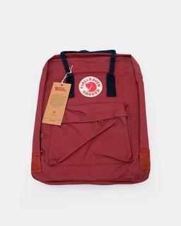 Tas Ransel Fjallraven Fjall Raven Kanken Classic Backpack Red Maroon Original 100%