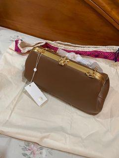 Tory Burch Cleo Moose Brown Bag