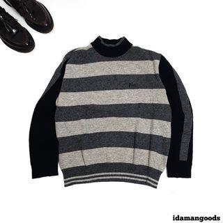 Unbranded turtleneck knitwear stripe