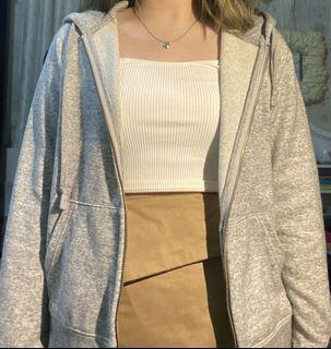 Uniqlo Grey Hoodie Jacket