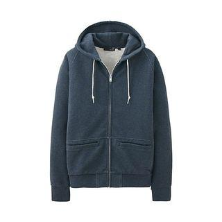 UU UNDERCOVER by Jun Takahashi  x UNIQLO Brushed Cotton Hoody. Navy. Size L. Condition: 9.5/10