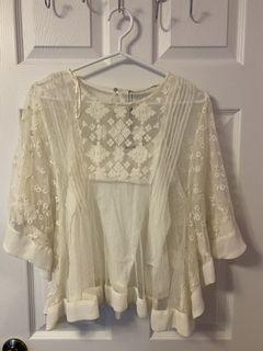 Zara Bohemian Lace Blousep