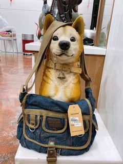 原價1180 牛仔 牛仔包 休閒背包 側背包 測背包 背包#斷捨離