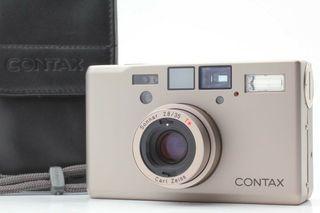 極新 日本製 Contax  T3 底片相機 淡金色 附原廠相機保護套