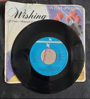 "A Flock of Seagulls - wishing (7"" single) vinyl Record"