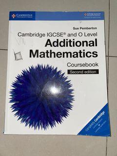 ADDITIONAL MATHEMATICS Kelas 10 Textbook (Boleh NEGO)
