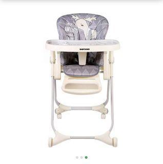 Babydoes Baby High Chair Deer Chair