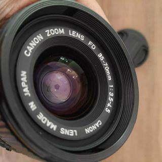 CANON ZOOM LENS 35-70mm 3.5-4.5