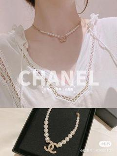 Chanel 2021 爆款氣質珍珠短項鍊