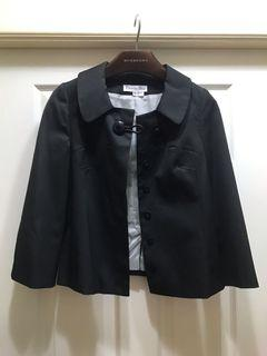 Christian Dior 羅馬尼亞製 黑色 基本款 短外套 36號